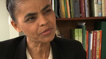 Marina Silva on GlobalLeadership.TV